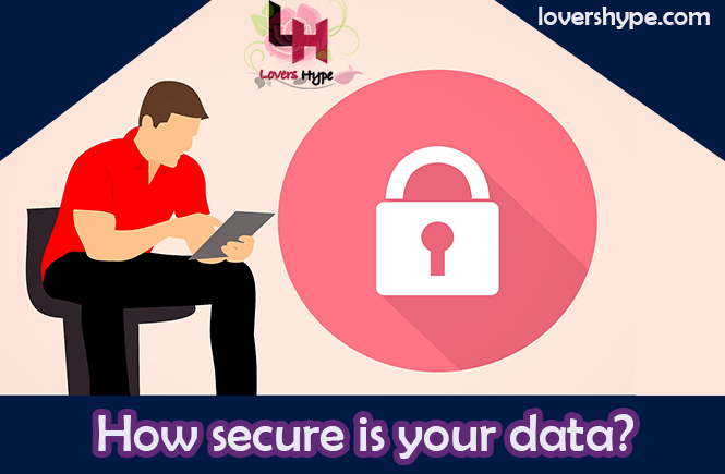 how secure is your data. Privacy policy of lovershype.com