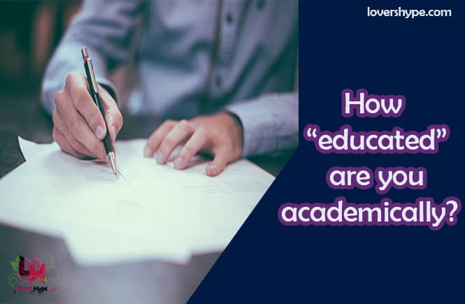 What Is Your Academic Qualification?