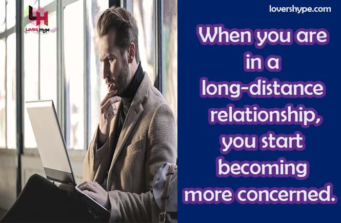 Mistrust Leads A Long Distance Relationship To Fail
